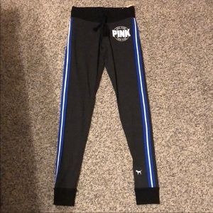 NEW PINK thin blue line joggers 💙